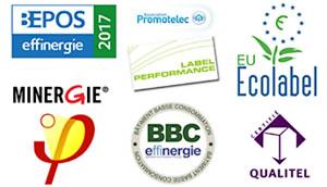 travaux de rénovation énergétique eco label