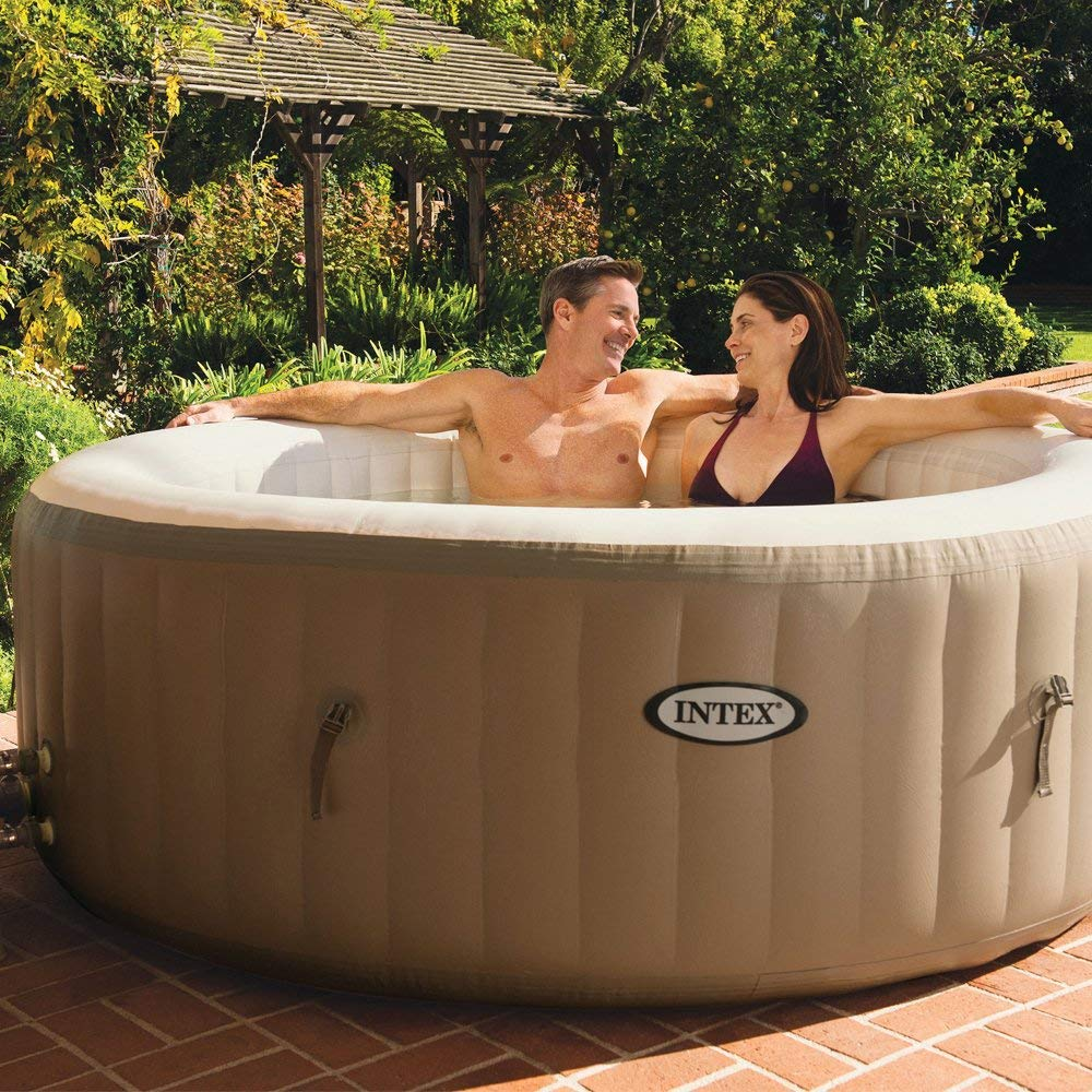 Spa gonflable pas cher Intex PureSpa Bulles