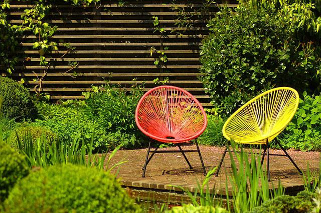 nettoyer chaise de jardin design