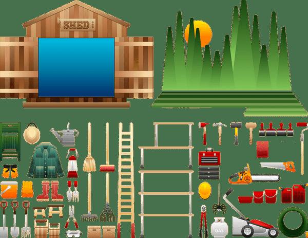assurer ses outils de jardin